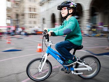 Fahrrad-Kinderwelt